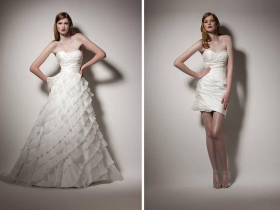 Две сватбени рокли сватбена агенция Инанна